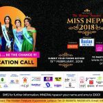Miss Nepal 2018 Applications Now Open!