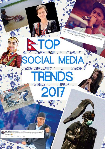 Nepal social media trends of 2017