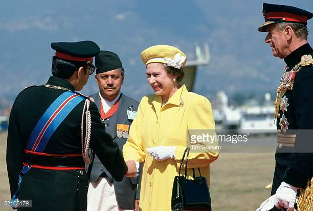 King Birendra old nepal