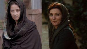 Manisha Koirala and Catelyn Stark