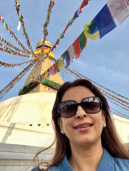 Juhi Chawla's Nepal visit