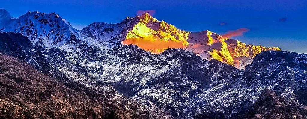 Major mountain ranges in Nepal