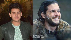 Amrit Dhungana and Jon Snow