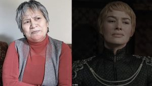 Hisila Yami and Cersei Lannister