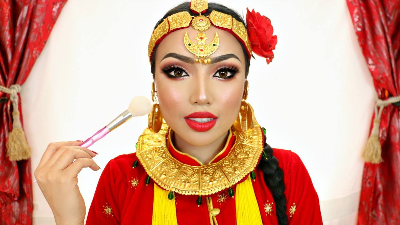 Promise Tamang Phan Does Her First Ever Nepali Makeup Tutorial Video