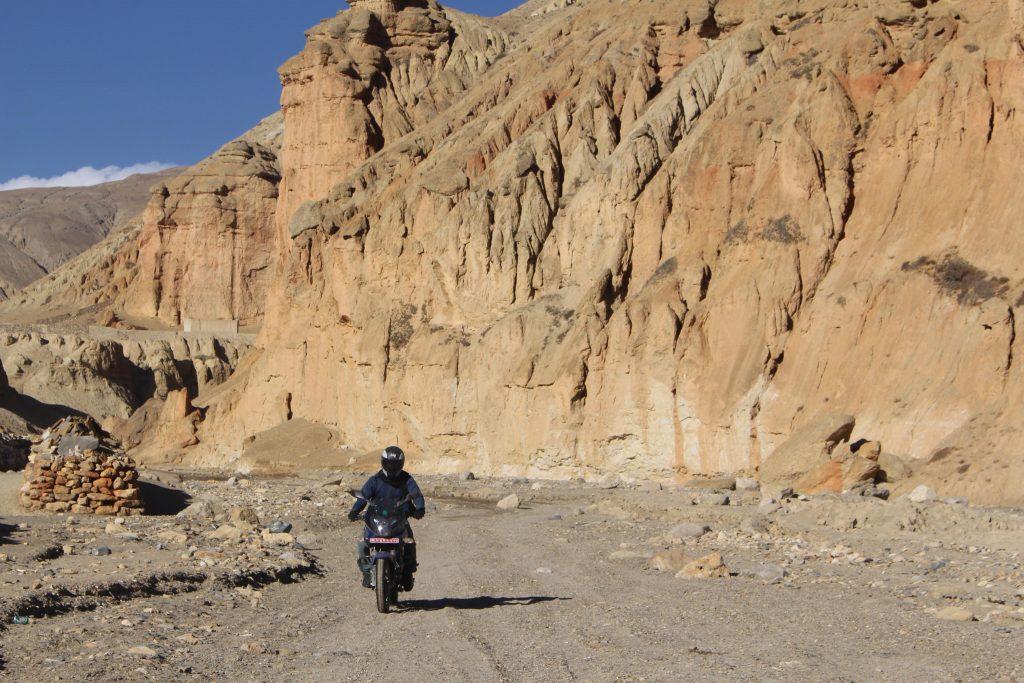 Motorbike trip to Upper Mustang