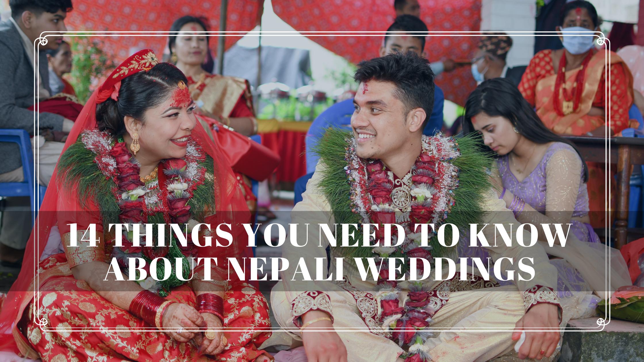 Nepali weddings